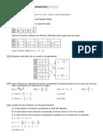 Funciones Lineales y Cudráticas