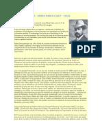 Breve Biografia Ruben Dario