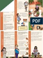 Folder Alimentação Escolares