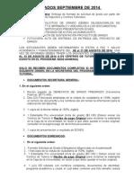 Informaciòn Documentos de Grado-Año 2014