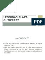 Leonidas Plaza Gutiérrez