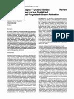 Specificity of Tyrosine Kinases Receptors