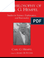 0195121368 - Oxford University - The Philosophy of Carl G. Hempel Hempel Studies in Science, Explanation, And Rationality - (2001)