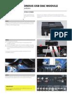 NAD MDC DAC Module Mounting Instructions