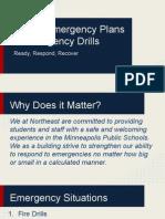 nems emergency plans and procedures