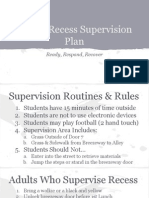 recess supervision