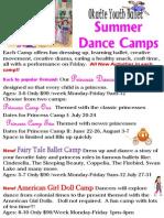 Summer Dance Camps 2015