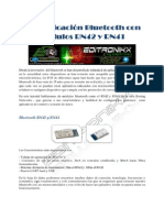 Comunicacion Bluetooth Con Modulos N42 y N41