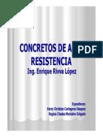 Concreto de Alta Resistencia