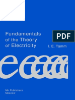 Tamm Fundamentals of the Theory of Electricity
