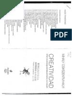 3. Creatividad (M. Csikszentmihalyi) Cap 2 y 3