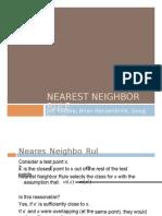 k Nearest Neighbor