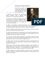 Biografía de Rafal Urdaneta (1)