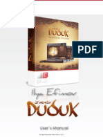 Ilya Efimov Duduk Manual ENG