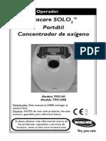 Manual Invacare SOLO2