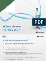 Manual Fiel y Csd