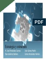 Estrategia y Estructura