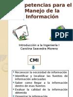 Competencias Para El Manejo de La Informacin