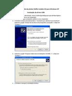 Manual Instalação Plotter A3