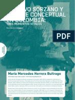 Gustavo Sorzano y arte conceptual en Colombia