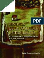 ZAMBRANO,F. - Historia de La Localidad de Tunjuelito