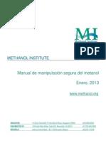 Methanol Safe Handling Manual Final Spanish