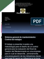 Diapositivas de Mantenimiento I (IV Corte)