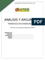 ANÁLISIS Y ARGUMENTO M1-3° A
