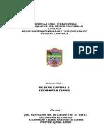 Contoh Proposal Perpanjangan Ijin Operasional TK
