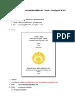 Format Laporan Akhir Uji Material Mesin 2013