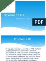 Problemas para aulas de análise de software orientada a objetos
