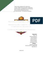 Informe de Practica de Quimica III
