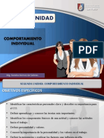 2. CO 2daUnidad Comportamiento Individual