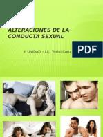 Alteraciones de La Conducta Sexual