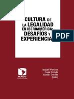 Cultura de La Legalidad en Iberoamérica