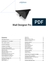 Manual Mail Designer Pro 2 2.0.5