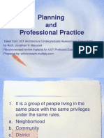 Architectural Reviewers - Profprac & Planning