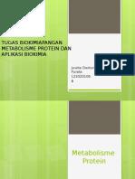 Metabolisme Protein dan Aplikasi Biokimia
