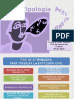 Actividades Expresión Oral