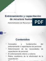 Presentacion Entrenamiento y Capacitacion