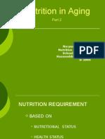 Nutritional Needs Npa Aging