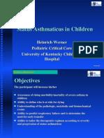 status asthmaticus in children