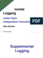 Oracle supple logging