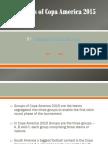 Groups of Copa America 2015