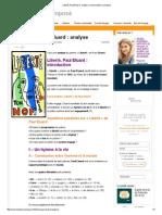 Liberté, Paul Eluard _ Analyse _ Commentaire Composé