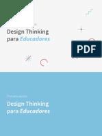 Presentacion Design Thinking Para Educadores CFIE