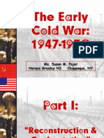 The Cold War4 | Strategic Defense Initiative | Soviet Union