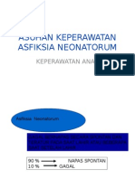 Asuhan Keperawatan Asfiksia Neonatorum