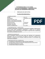 Programa Planes 2014