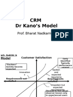 CRM Dr Kano's Model